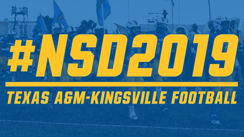 NSD2019 - Texas A&M - Kingsville Athletics